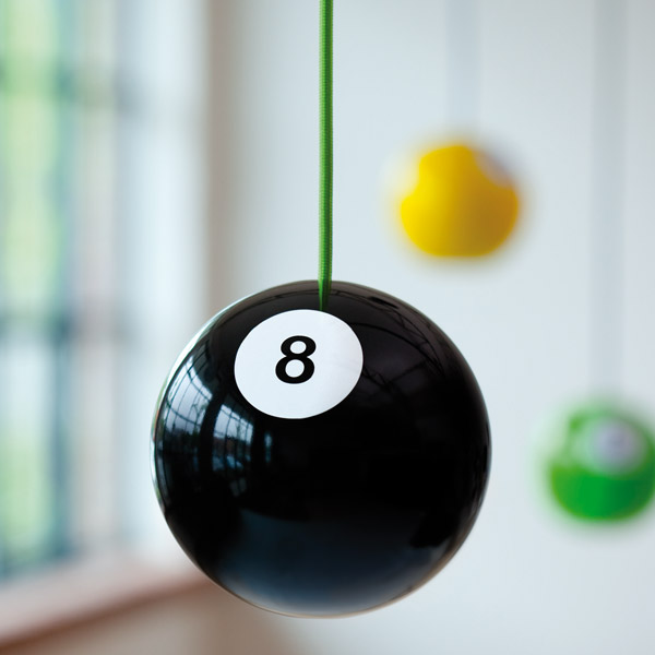 8 ball lamp by pulz lab