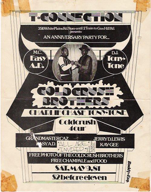Buddy Esquire Hip Hop Flyers Block Parties Bronx