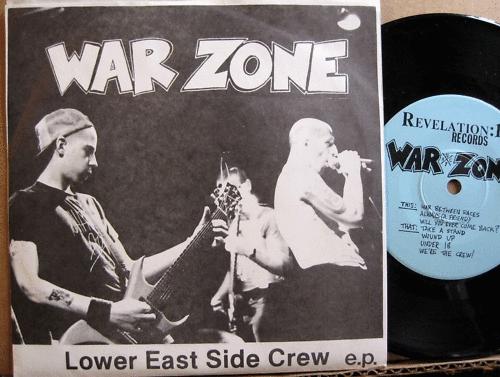 hardcore punk typography vinyl warzone