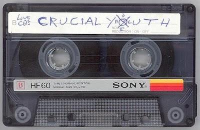 hardcore punk typography demo tape