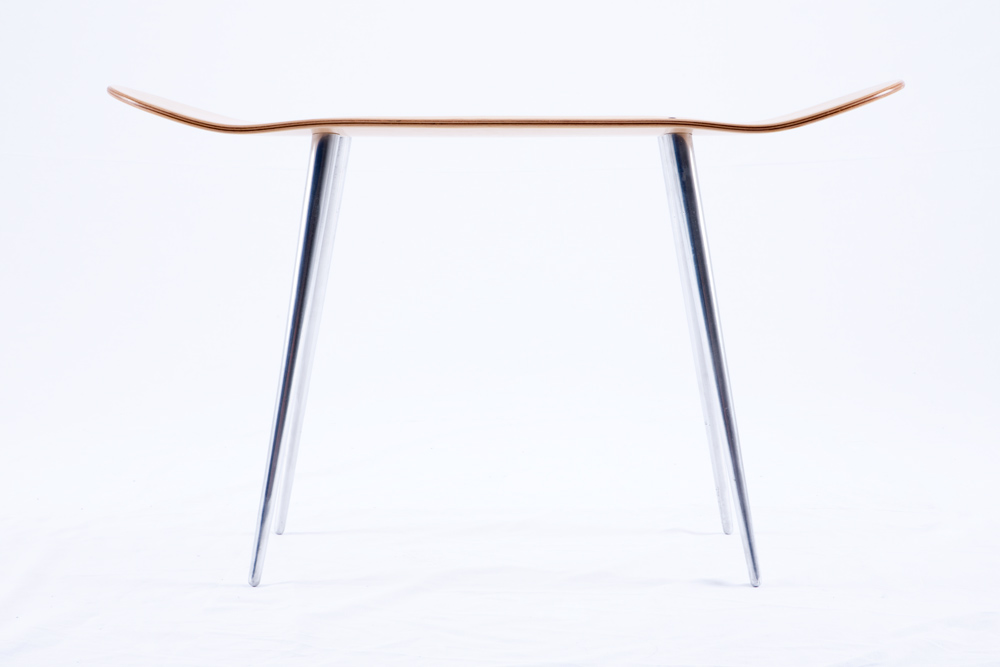 skateboard furniture stool