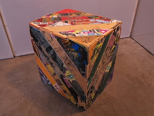 recycled skateboard furniture by popupdesign