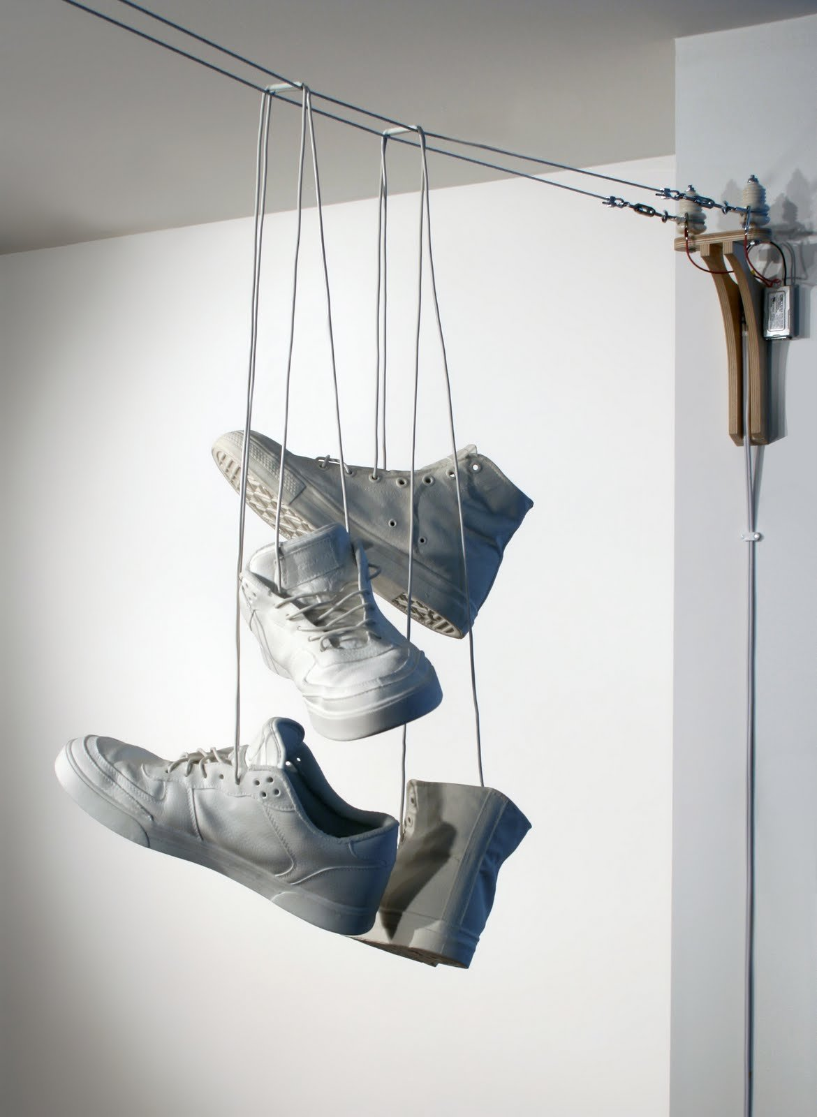 lighting inspired by shoe tossing jeremy hatch